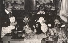 кабинет труда шитье