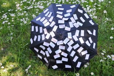 Креативный зонт